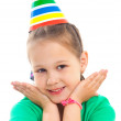 Little girl at party — Stock Photo #31919457