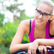 Sporty woman — Stock Photo