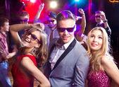Gece kulübünde parti — Stok fotoğraf