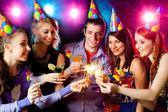 Party at nightclub — Stock Photo