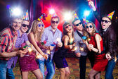 Party at nightclub — Stock Photo