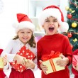 Funny christmas company — Stock Photo #34815565