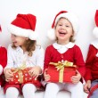 Funny christmas company — Stock Photo #34815579