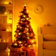 Presents under Christmas Tree — Stock Photo