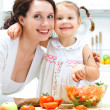 Cooking together — Stock Photo #35684625