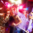 Young party in club — Foto Stock
