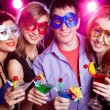Stock Photo: Young party