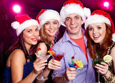 Christmas party — Stock Photo