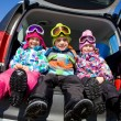Stock Photo: Wintertime children