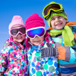 Kids in wintertime — Stock Photo #36076123