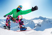 Snowboarding — Stock Photo