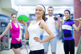 Sporty people — Stock Photo