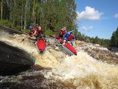 Rafting — Stock Photo