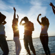 Party on the beach — Stock Photo #44839319