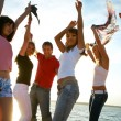 Party on the beach — Stock Photo #44839421