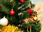 Pelliccia-albero di natale — Foto Stock
