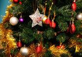 Christmas fur-tree — Stock Photo