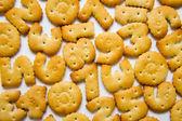 咸饼干 — 图库照片