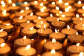 Many little candles  — Stock Photo