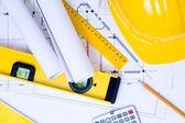 Verktyg för konstruktion — Stockfoto