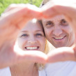 Mature couple happiness together — Stock Photo #48813405