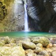 Kozjak waterfall — Stock Photo