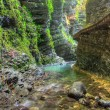 Kozjak creek — Stock Photo