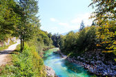 Soca river, Slovenia — Photo