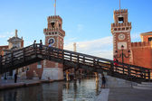 Arsenale, Venice — Stock Photo
