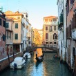 Gondolier in Venice — Stock Photo #12600529