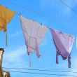 Clothes hanging — Stock Photo #12602902