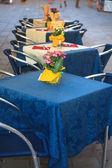 Tables set — Stock Photo