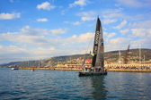 Barcolana regatta, Trieste — Stock Photo