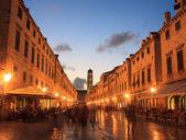 Stradun, Dubrovnik — Stock Photo