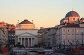 Churches in Trieste — Stock Photo