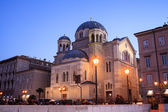 Orthodox Church of St. Spyridon, Trieste — Stock Photo