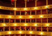 Teatro Verdi, Trieste — Stock Photo