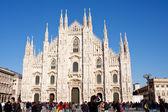 ミラノのドゥオーモ、イタリア — ストック写真