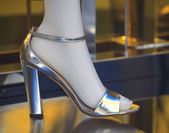 Женские туфли с каблуком — Стоковое фото