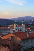 St. Ignatius cathedral, Gorizia — Stock Photo