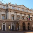 Teatro alla Scala, Milan — Stock Photo