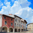 St. Marco square, Pordenone — Stock Photo