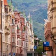 old buildings in bolzano — Stock Photo