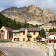 Piccolo Lagazuoi, Passo Falzarego — Stock Photo