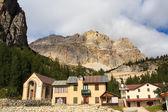 Piccolo Lagazuoi dal Passo Falzarego — Stock Photo