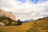 Dolomity, cima del passo. falzarego — Zdjęcie stockowe