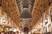 Gallery Vittorio Emanuele II in Milan, Italy — Stock Photo