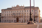 Prefecture building, Trieste — Stock Photo