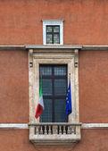 Balkon palazzo venezia, rzym — Zdjęcie stockowe