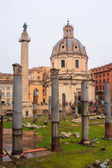 Imperial Fora, Trajan Forum, Rome — Stock Photo
